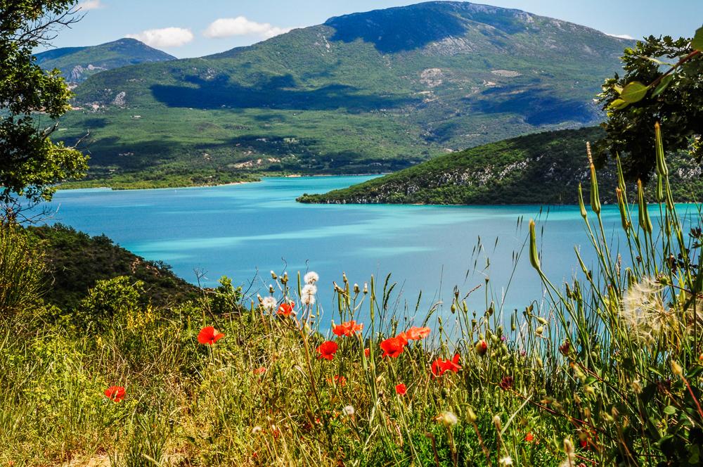 Azure Lake French Countryside