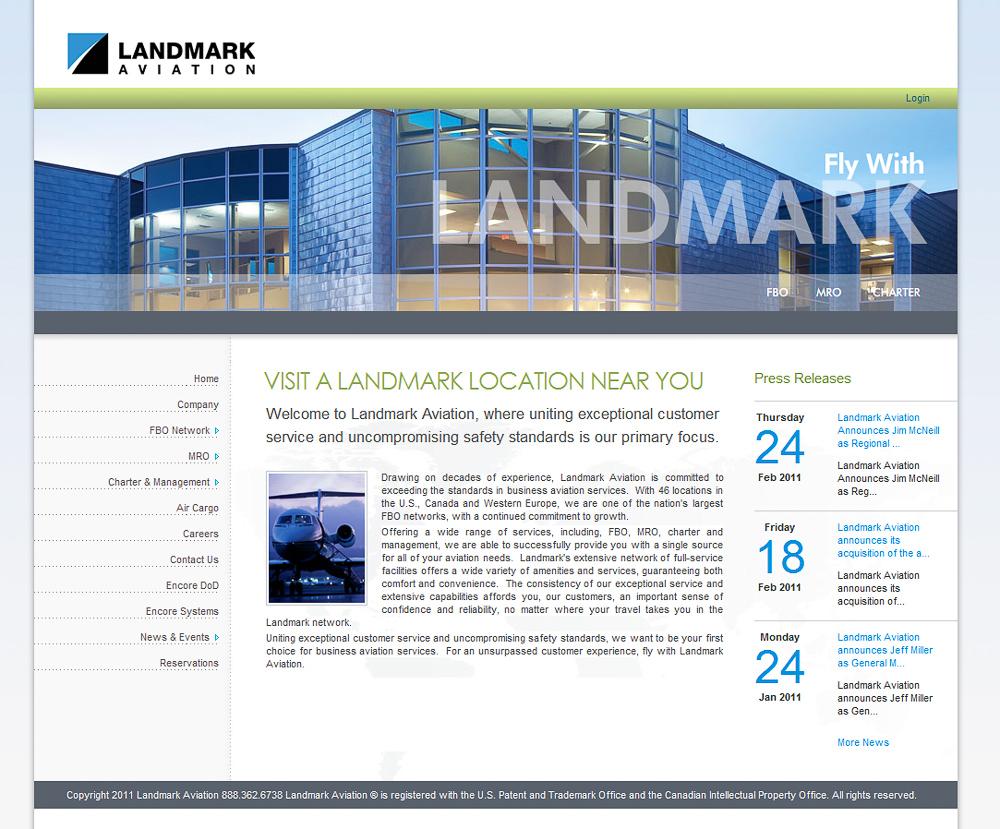 Landmark Web Home