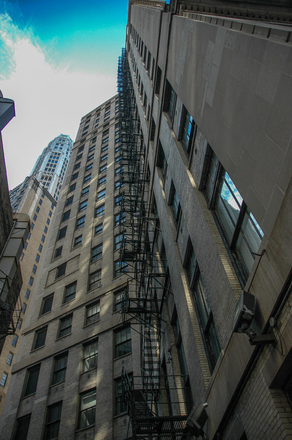 Chicago, Buildings And Fire Escapes To Infinity