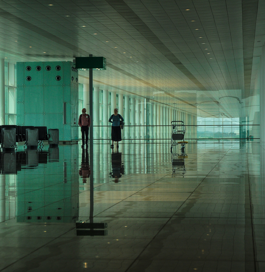 Infinity - Strangers - Spain Airport Reflections