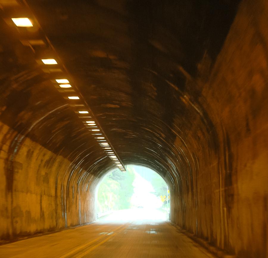 Underground Tunnel, Northwest Lights
