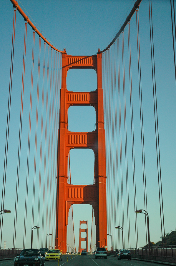 Golden Gate Bridge, San Francisco, Red Steel