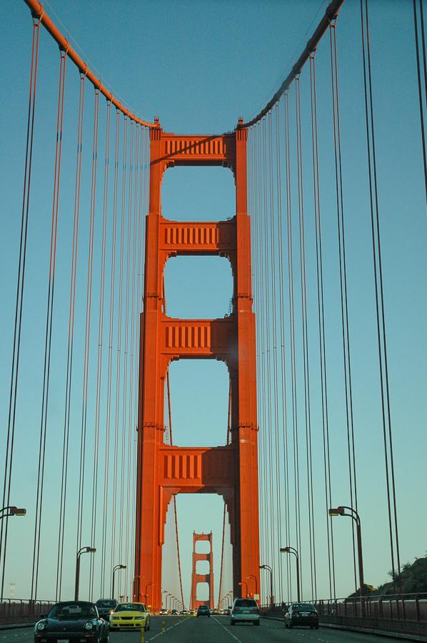 Golden Gate Bridge, San Francisco, Red Steel