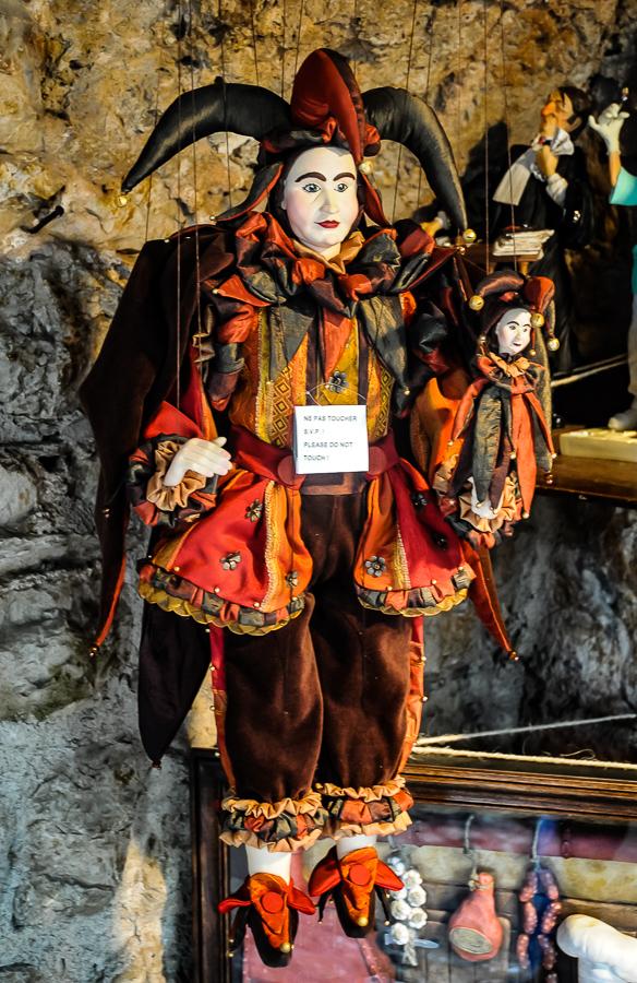 France, Eze, marionettes