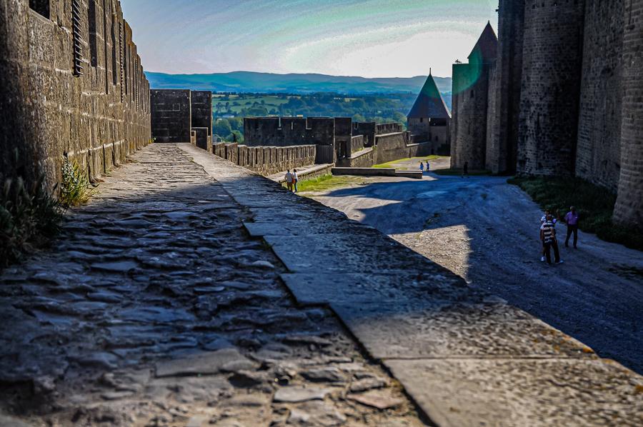 Carcasonne Castle France