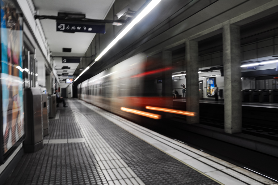 Subway, Barcelona, Ghost Train