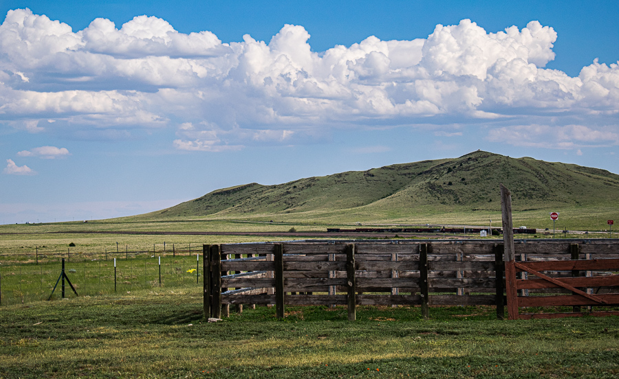 Roadside Relics - Ranch with Mountain Lonely