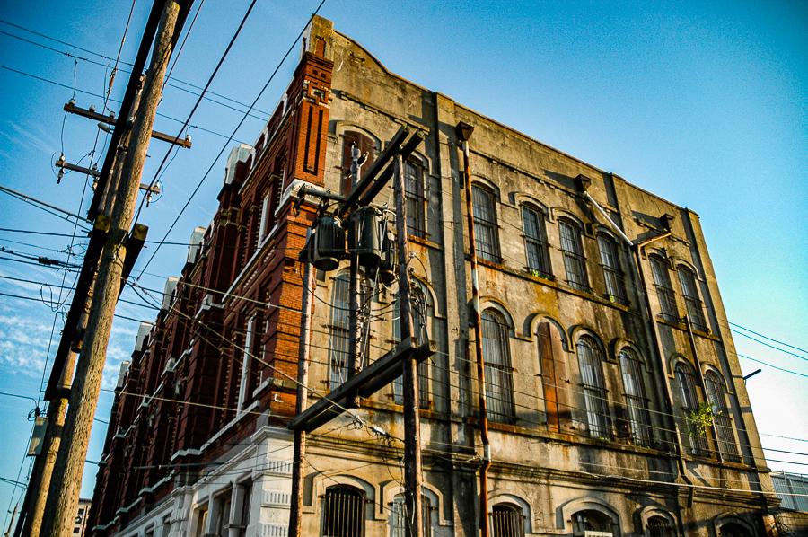 Roadside Relics - Red Brick Relic, Galveston