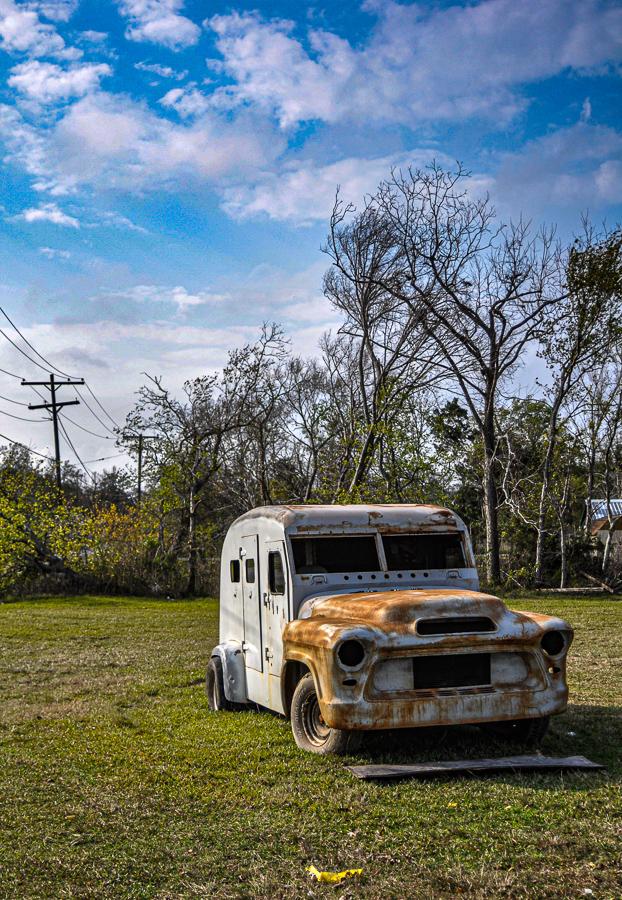 Roadside Relics - Rusty Truck In Field