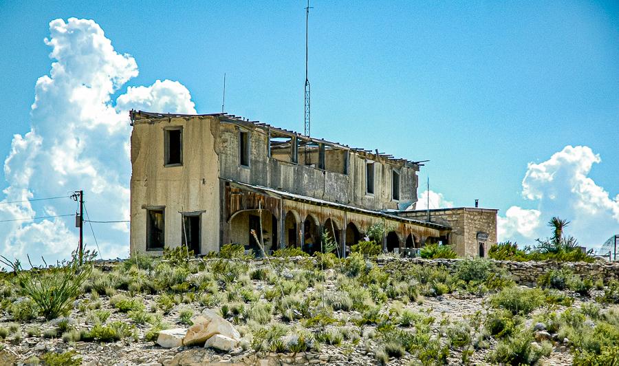 Abandoned Building - Terlingua Forgotten Hotel