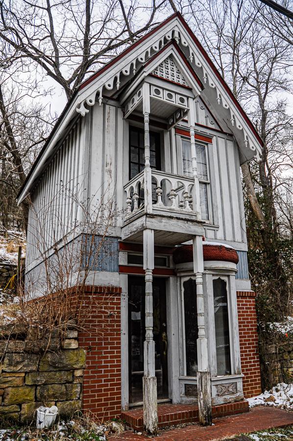Roadside Relics - Narrow Dwelling Eureka Springs