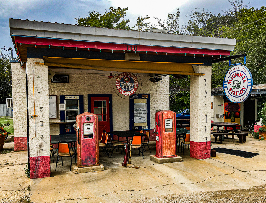 Roadside Relics - Gas Station From Yesterday, Pilot Point Texas