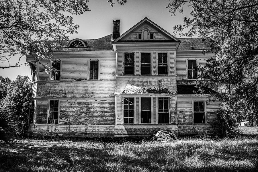 Abandoned Mansion - Gulf Coast
