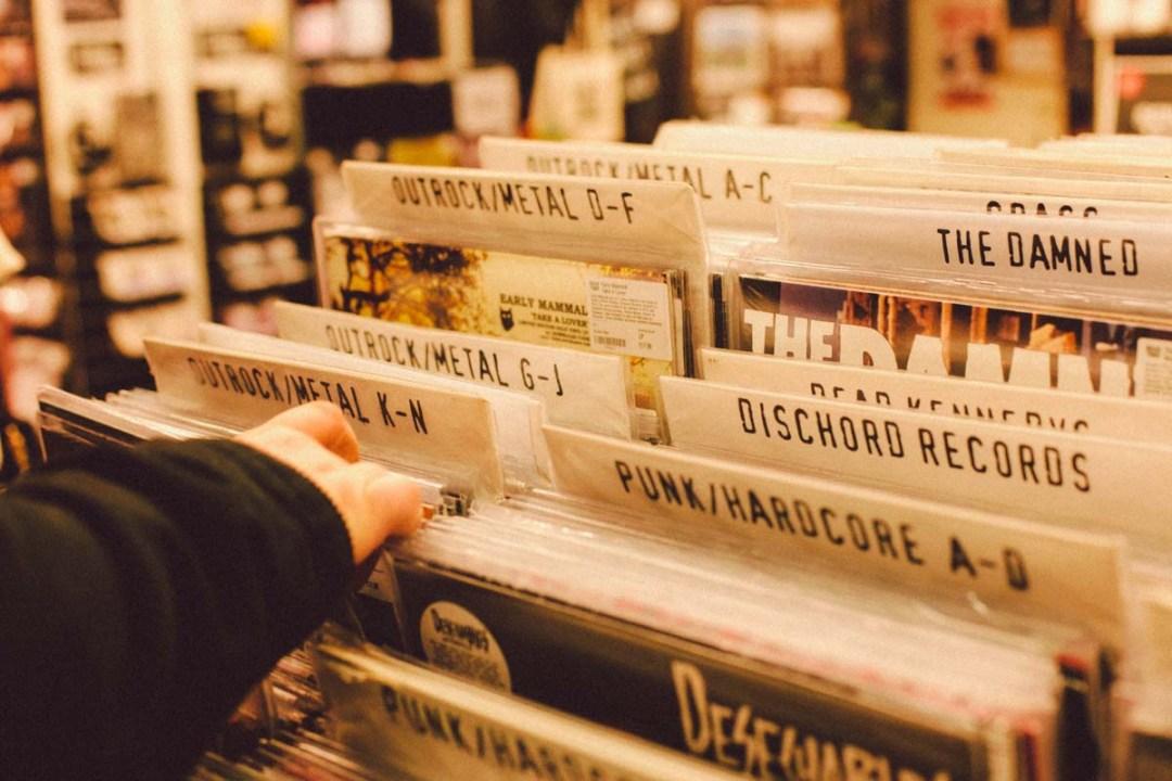 Londres - Rough Trade LP