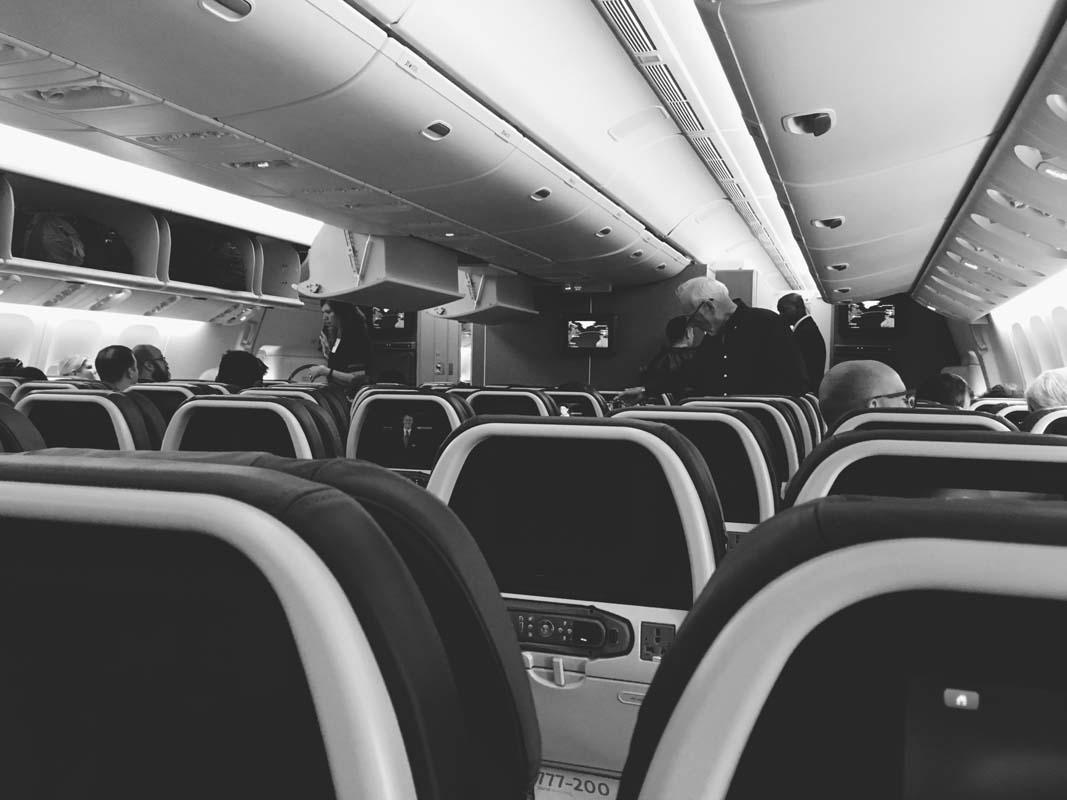 new-york trip plane