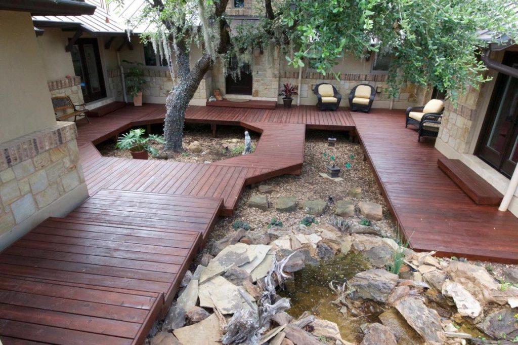 river city deck patio