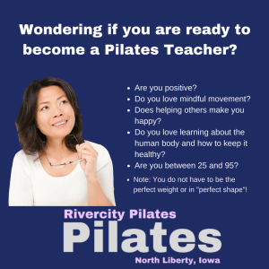 How much should I weigh before becoming a Pilates teacher?