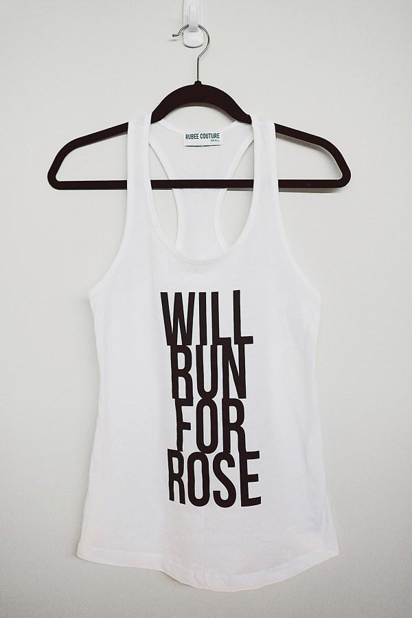 Will Run for Rose Tank