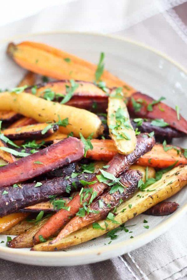 mustard herb carrot recipe