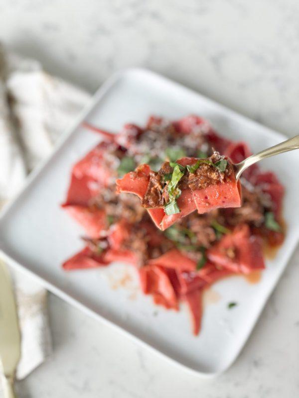 delicious beef ragu