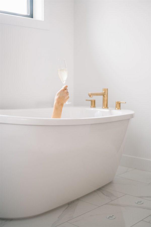 bubble bath for self care