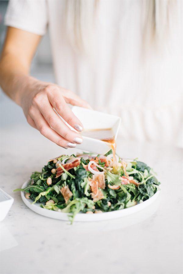 tuscan white bean summer salad