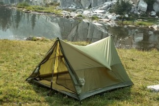 Trekking Pole Tent front