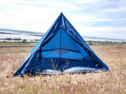 4 person trekking pole tent