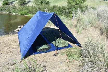 backpacking shelter tent