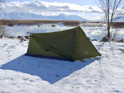 2 Person Backpacking Tent Side