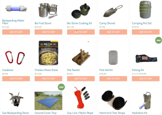Camping and Backpacking Items