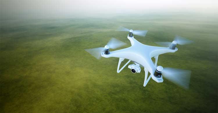 The Range of Drone