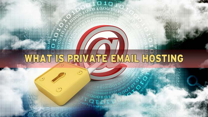 What is private email hosting