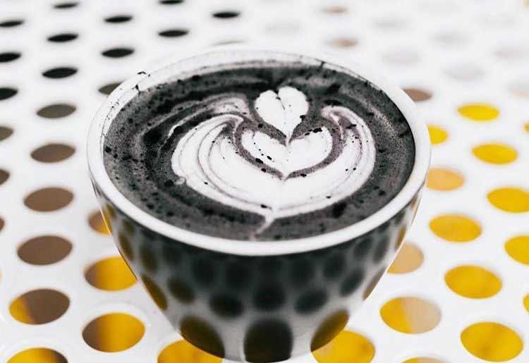 How to make Black Latte?