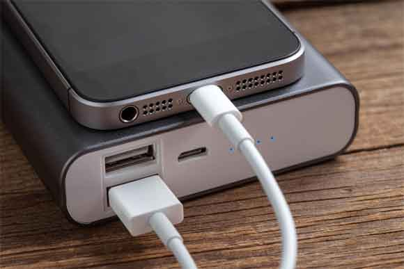 Use of power bank