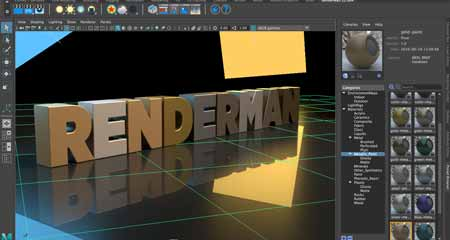 What does the Pixar RenderMan do