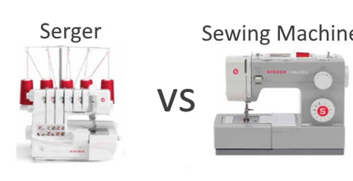 When to Use A Serger Vs Sewing Machine