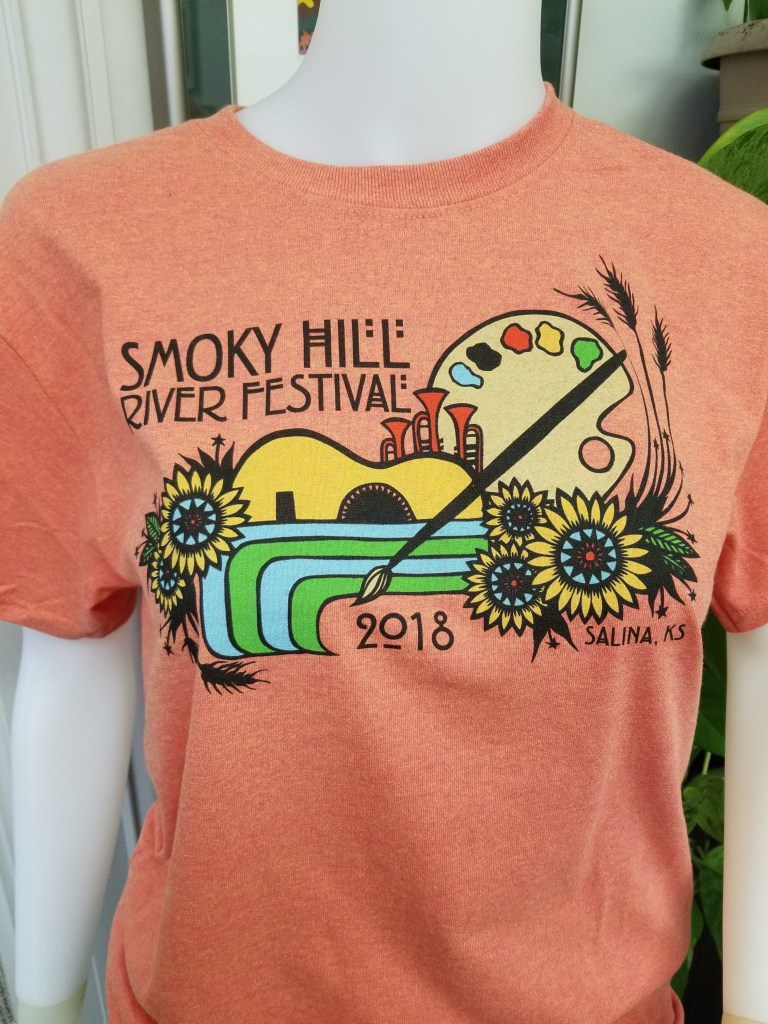 2018 Festival T-Shirt by Angie Pickman