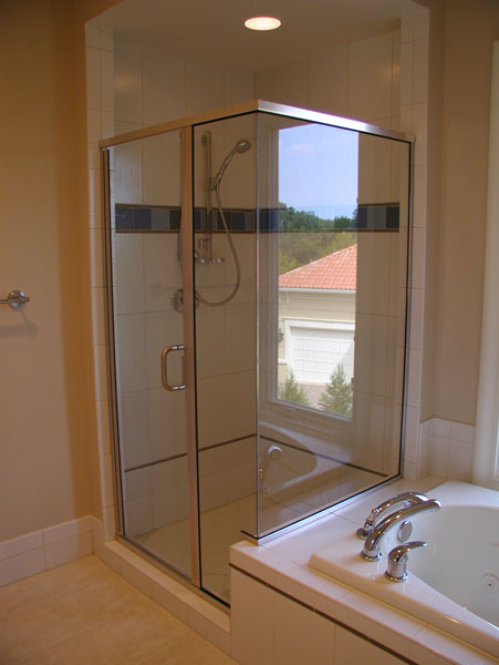 Framed Shower Doors Gallery From River Glass Designs