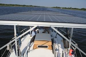 2013 0714 solar boat panels