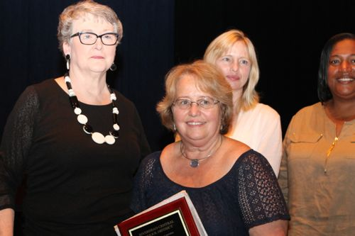 Suzanne Arnau, Riverhead Middle School cook, 30 years of service.