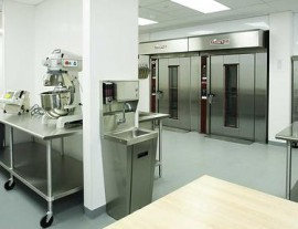 The Stony Brook Business Incubator's 8,400 square foot food facility contains four food production areas, and is open 24 hours a day, 7 days a week. Photo: Stony Brook University
