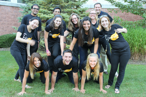 Buncee's 12-member team is largely made up of Stony Brook University graduates. Photo: Katie Blasl