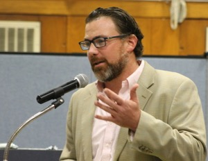 """""""For me, this is personal,"""" Renaissance Downtowns vice president for planning and development Sean McLean, a Flanders resident told the Southampton Town Board."""