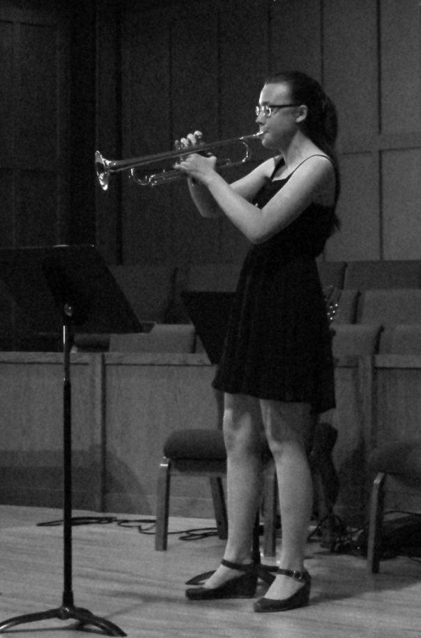 Teen Girl Trumpet