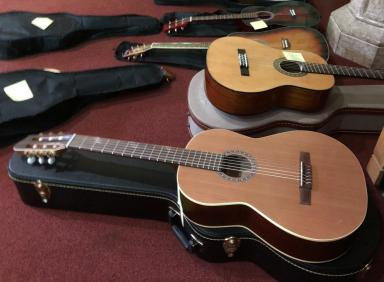 Guitars in waiting