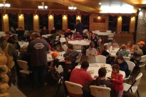 Nealry 40 youth attended the recent United duck call building for the seminar.
