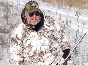 Mike Roux has developed a complete blackpowder program that has been proven successful throughout many different hunting seasons.  (Photo by Spencer Dietrich)