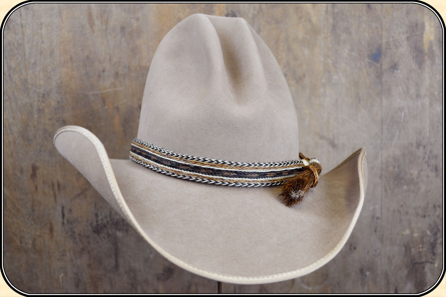 Horsehair Hat Band Wide 1 Inch