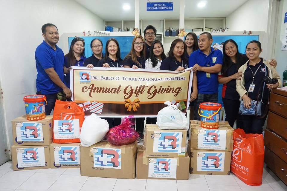RMCI's Annual Gift Giving